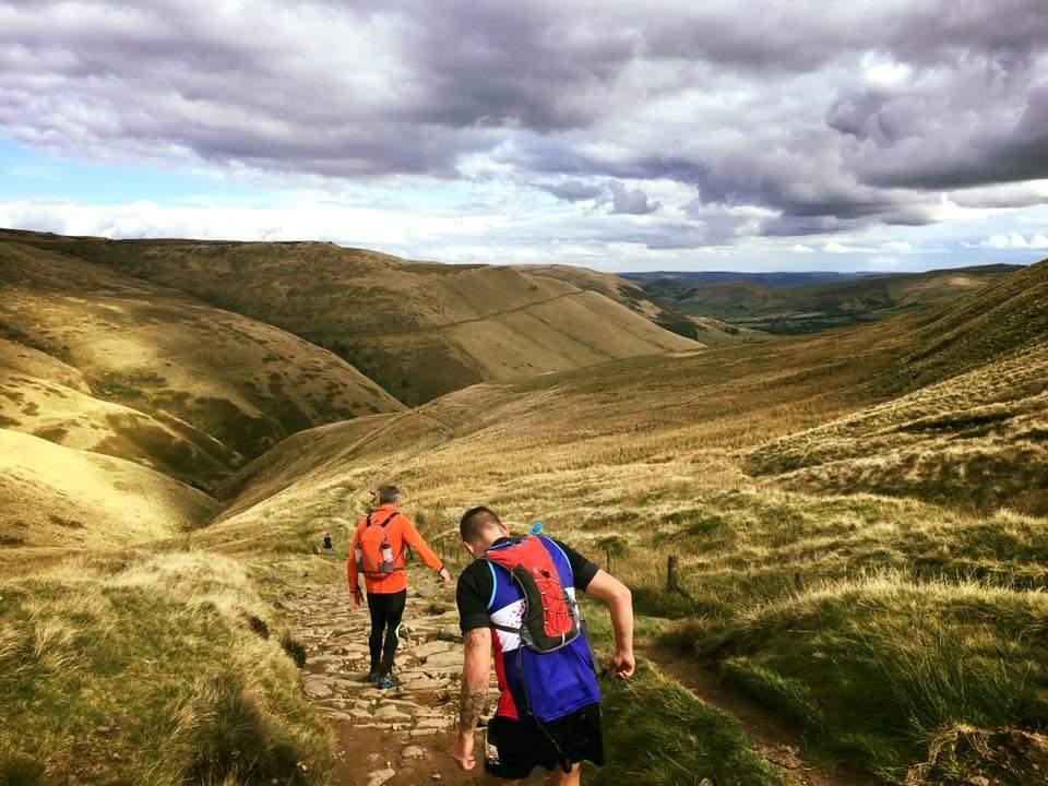 Chris Redtop running some more stunning Maverick Trails