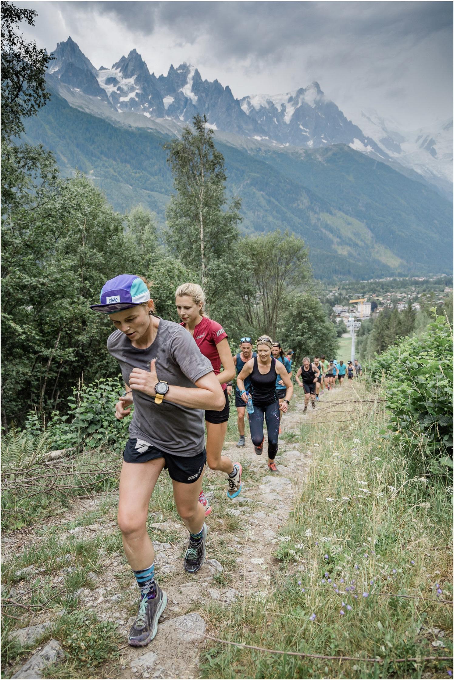 JaySki running the Chamonix Trails