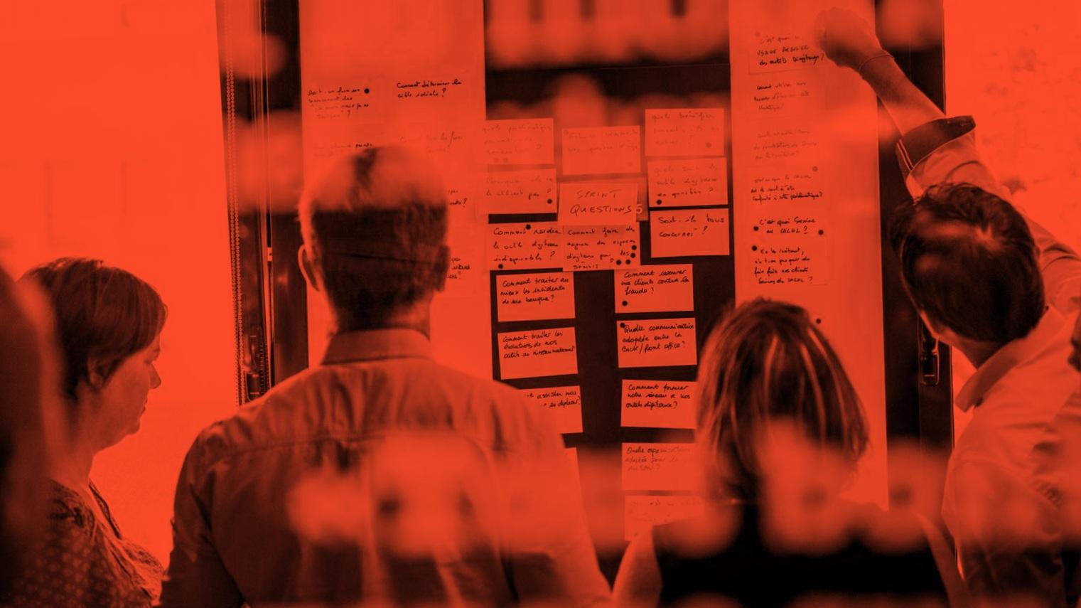 Formation design sprint/design thinking - Un mix de méthodes provenant du lean ux, du designthinking, de l'agile…la formation vous permettra d'acquérir les outils nécessaires pour mener à bien vos projets d'innovants.