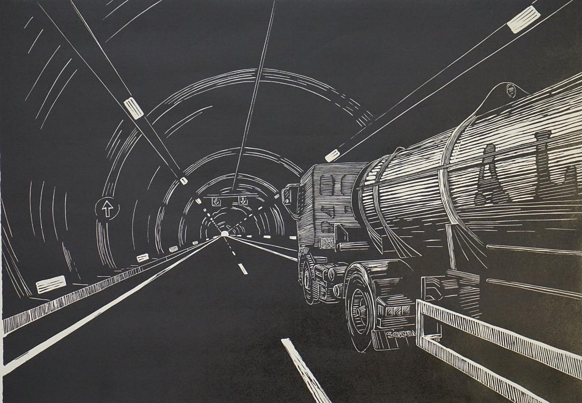 Tunnel Autovia 67