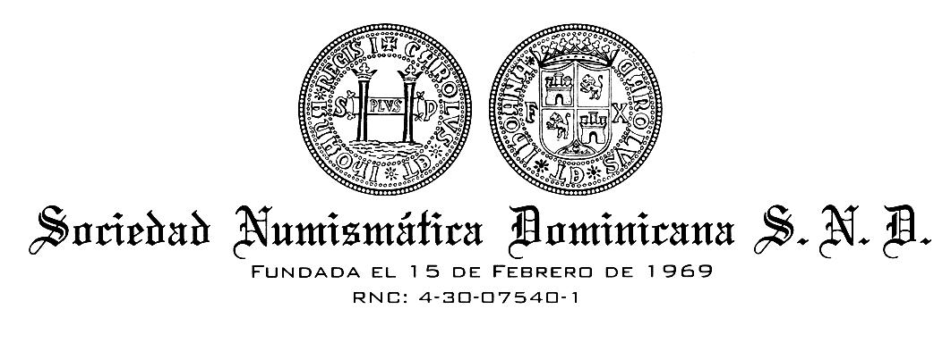 Logo de la Sociedad Numismática Dominicana