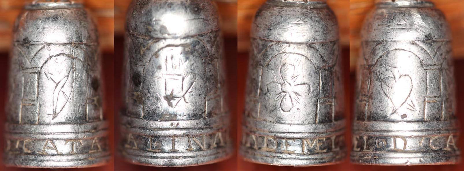 Dedal de Plata, encontrado con detector de metales.