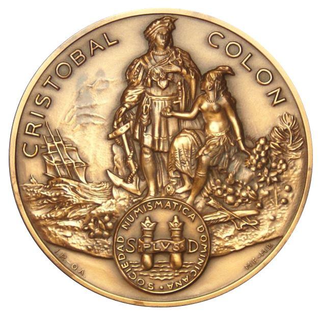 Medalla Sociedad Numismática Dominicana