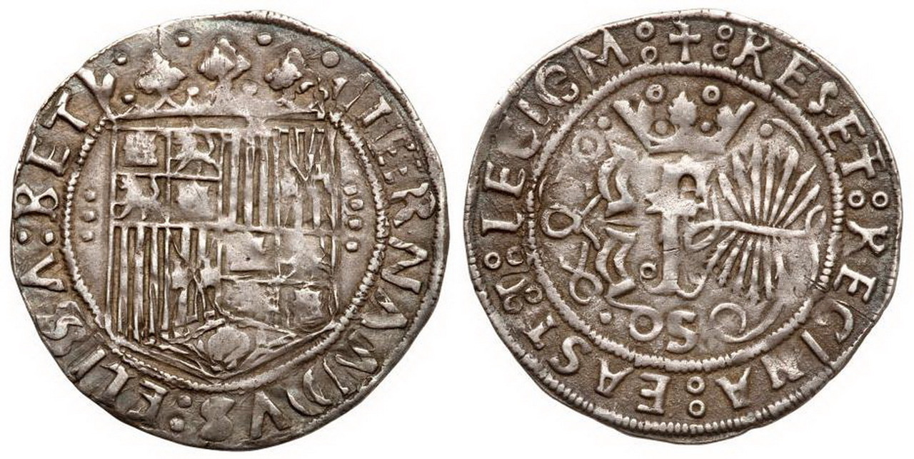 1 REAL SEVILLA (3 puntos cruz) Santo Domingo