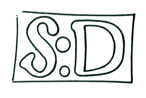Resello frances S:D en Saint-Dominge, para validar monedas extranjeras, para circulacion en la colonia