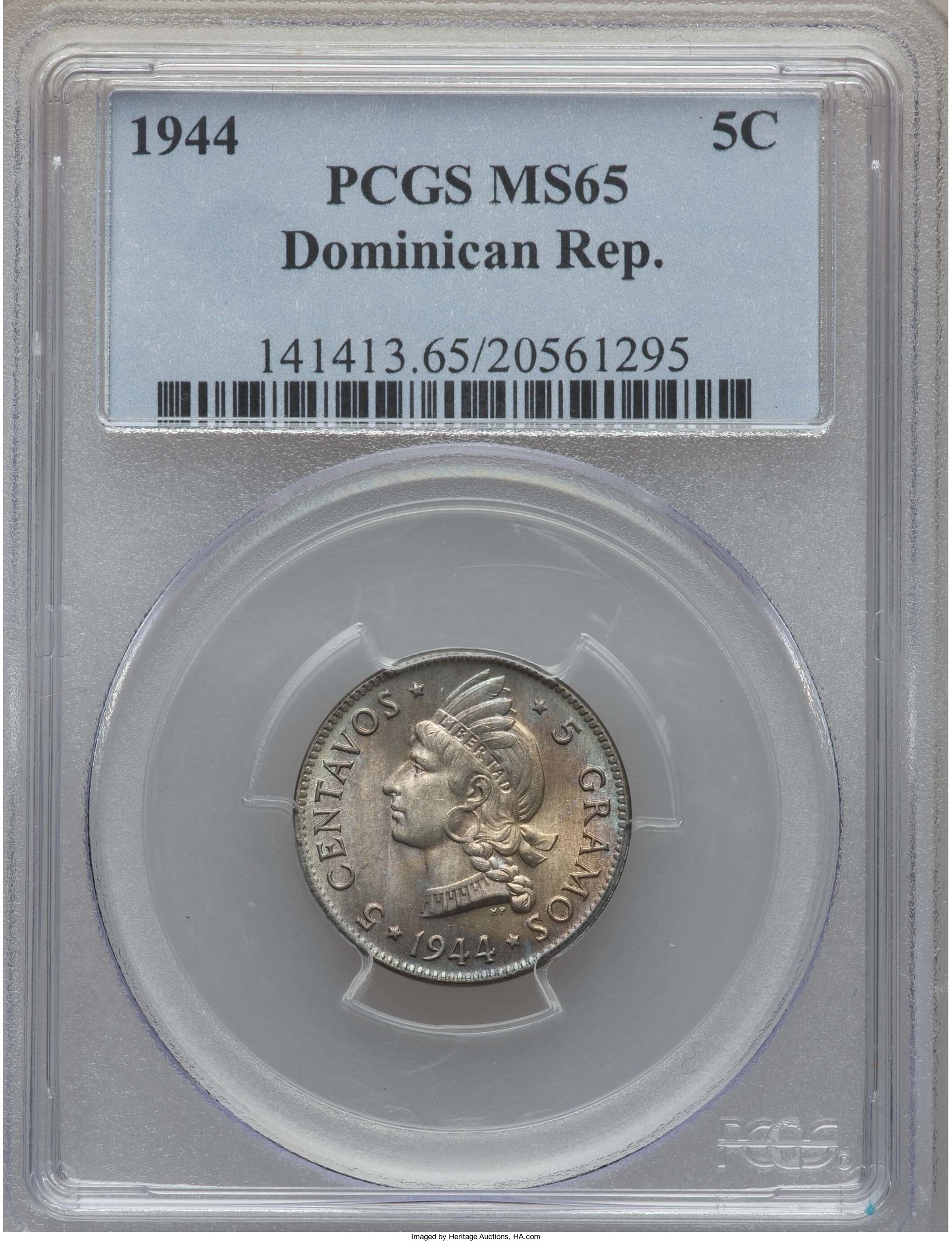 5 cent 1944 a