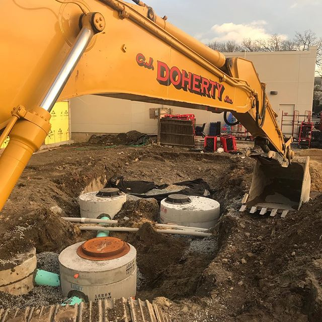 #drainage #electric #digger
