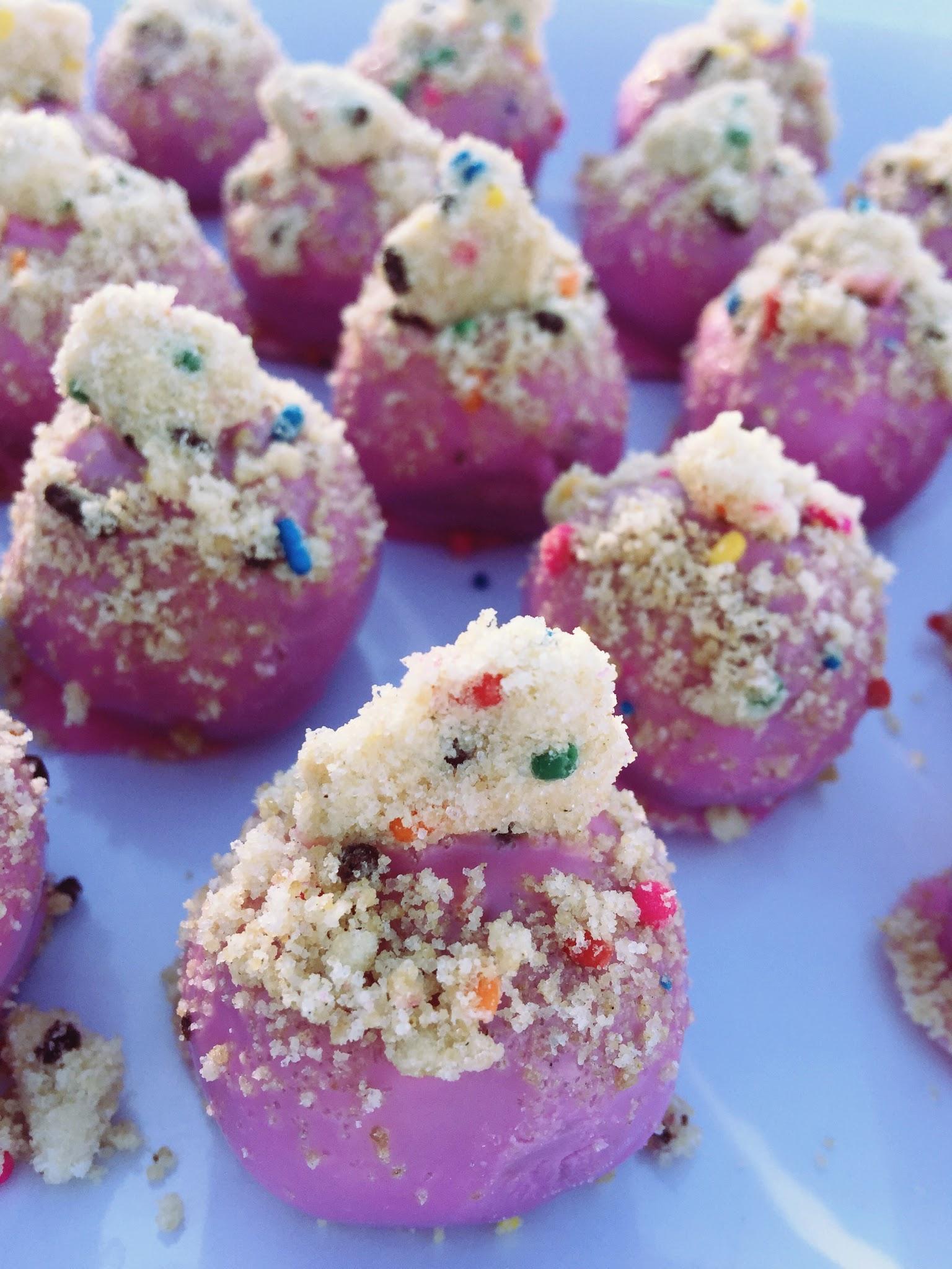 dayton birthday cake balls