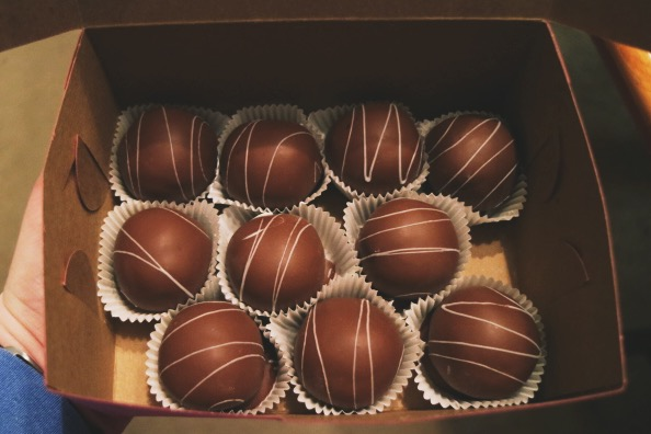 Chocolate Cake Balls Cincinnati