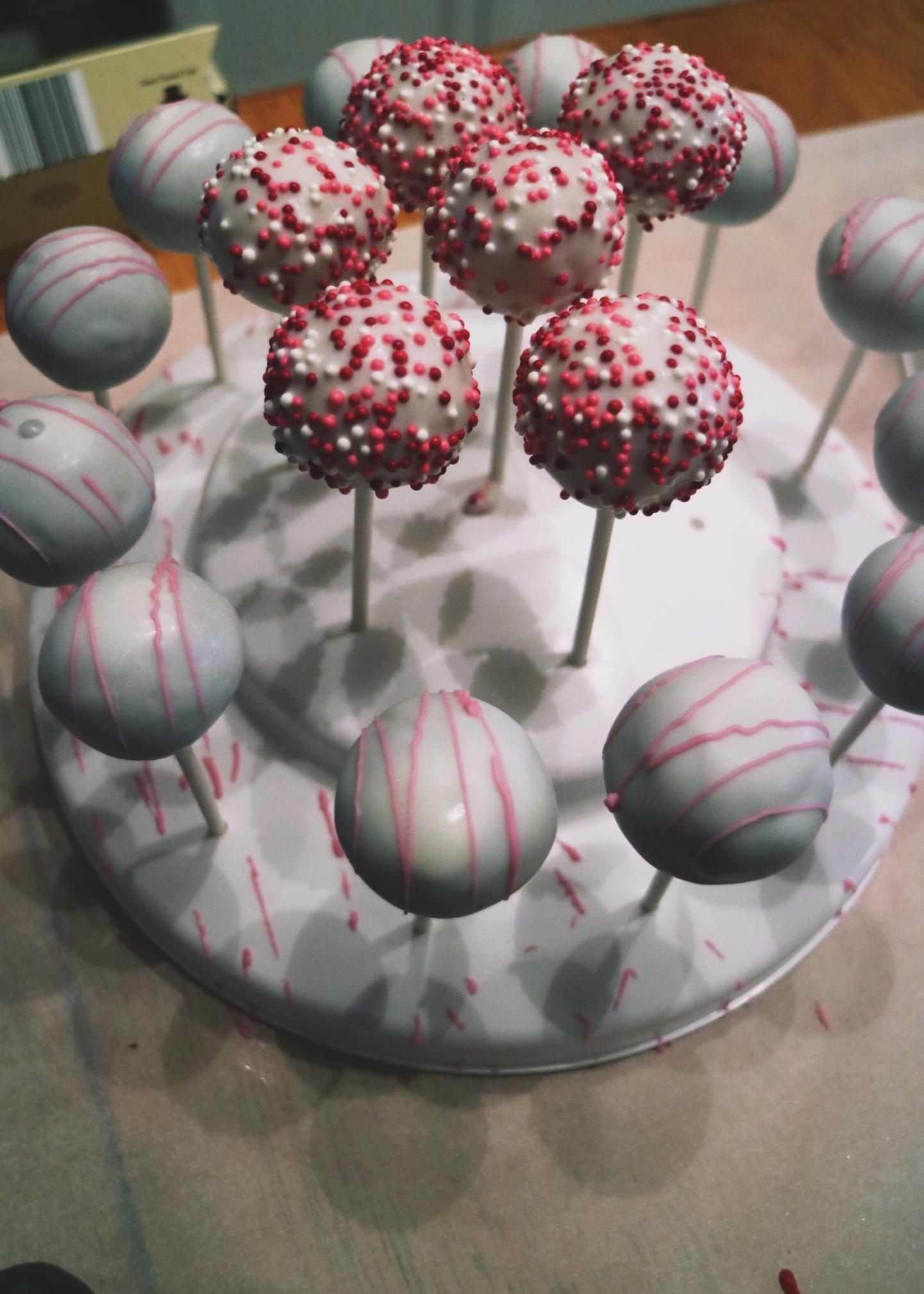 Children's Valentine's Day Cake Balls