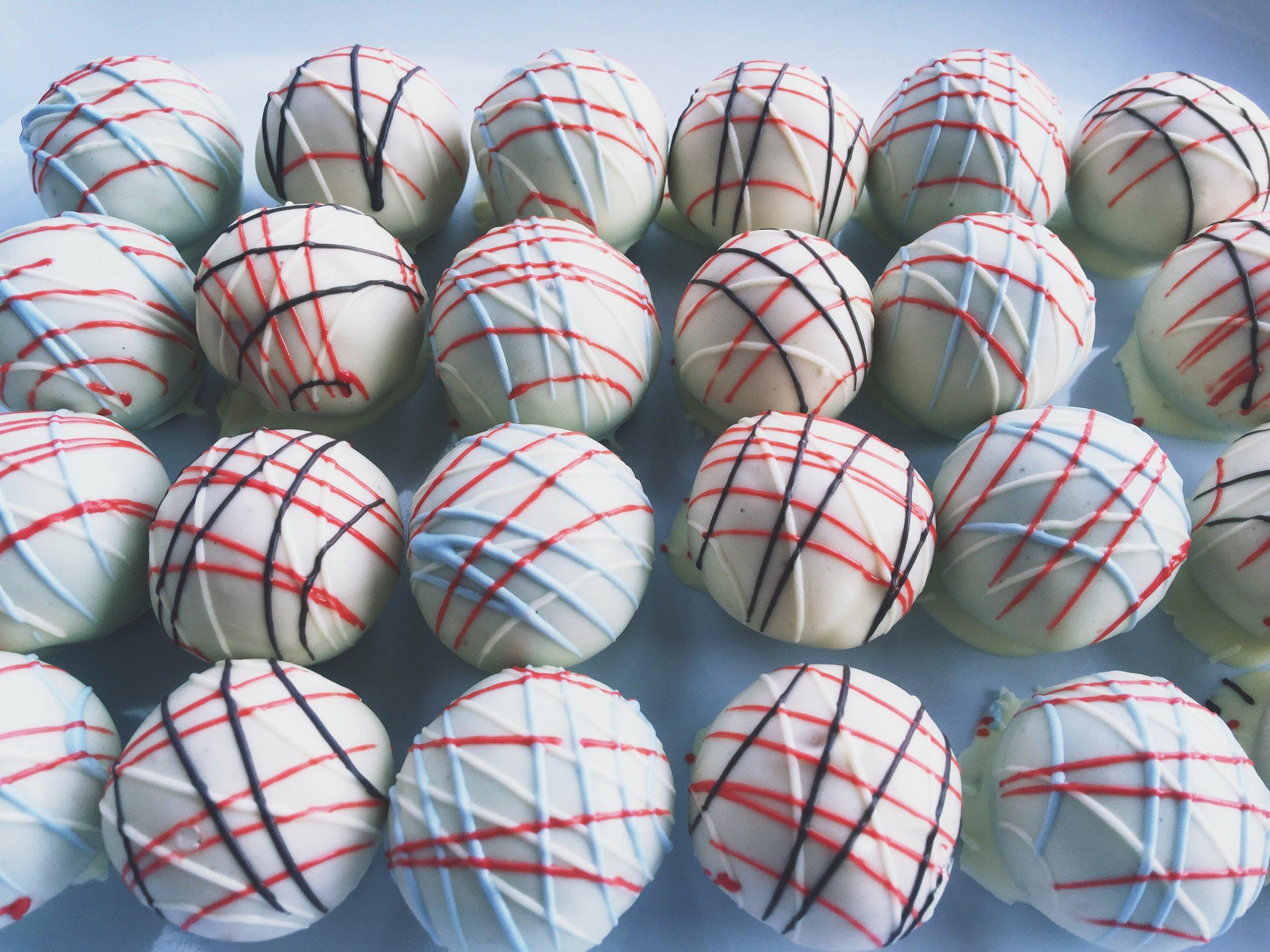 University of Cincinnati and Kings High School Cake Balls