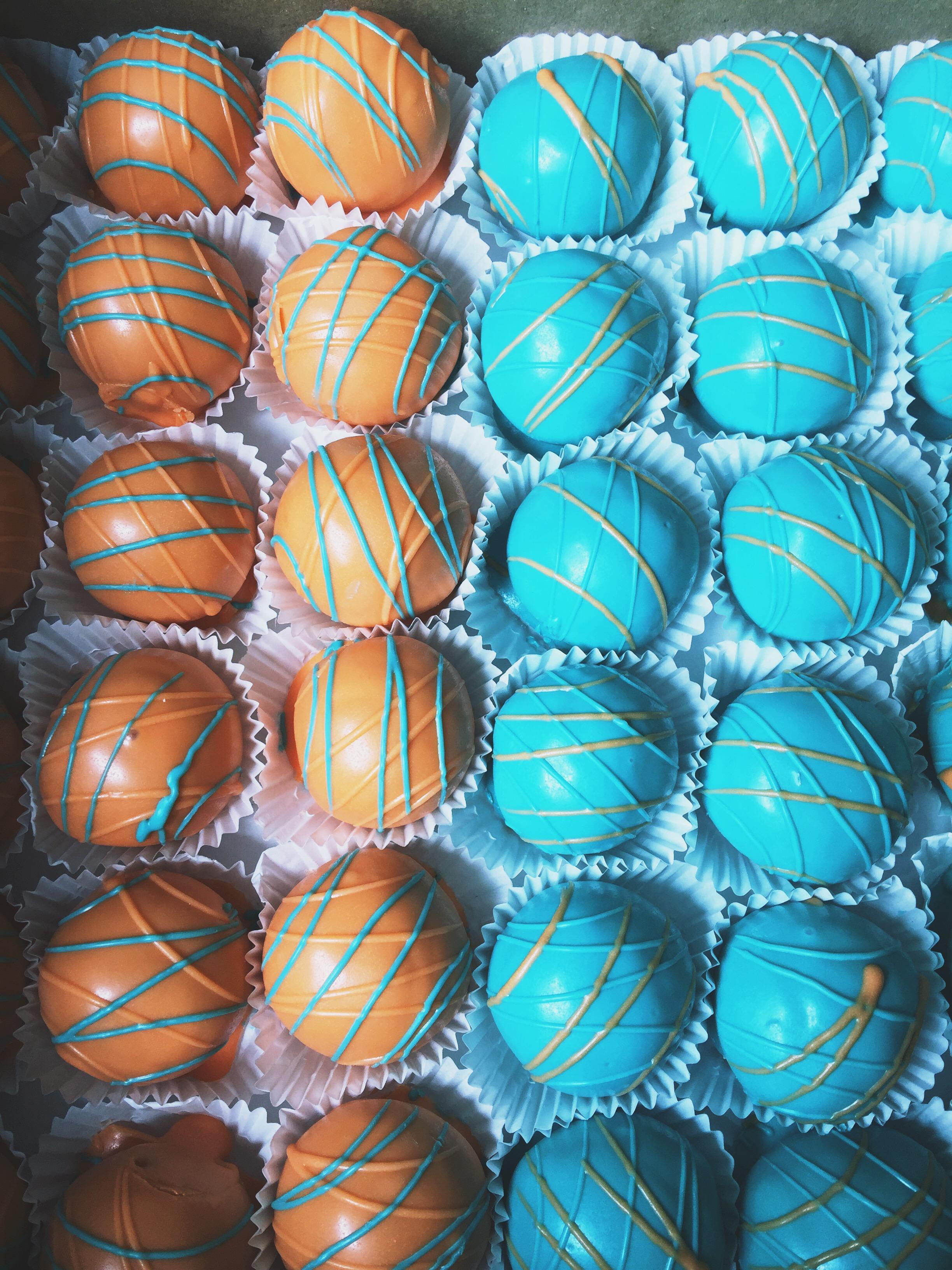Cincinnati Bridal Shower Cake Balls