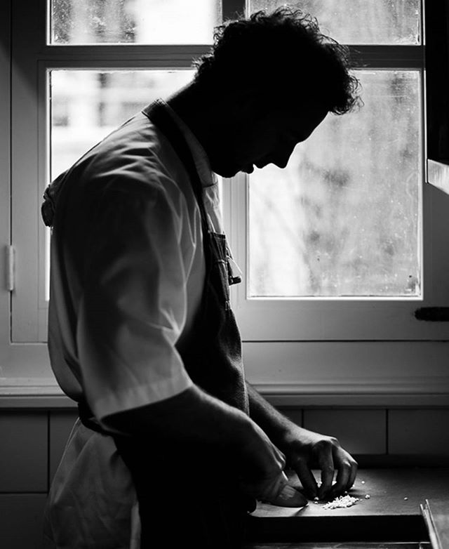 Working on something you love is always the best kind of work. #work #peopleatwork #cook  #restaurant  #kitchen #kitchenlife  #food  #blackandwhitetheme #blackandwhite  #foodie  #cooking  #gourmet  #cheflife