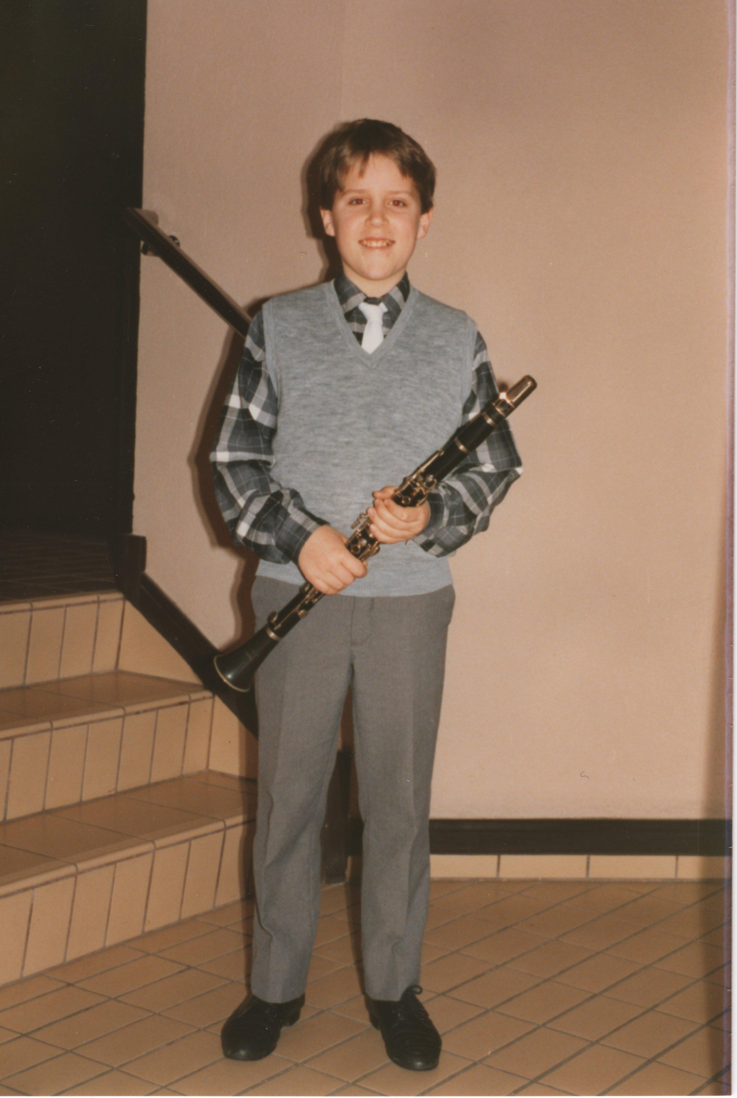 Little Clarinet Boy