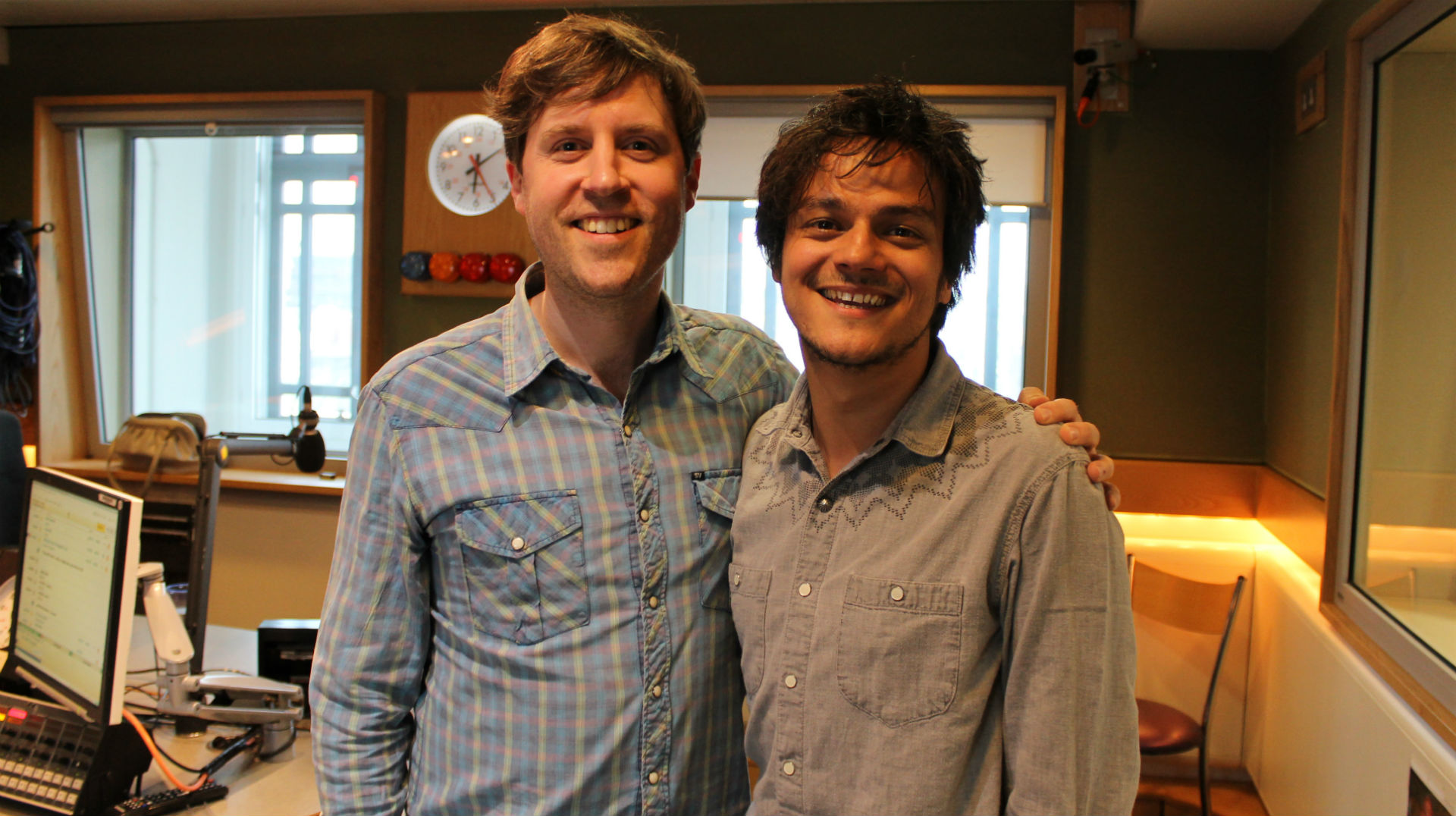 Popping in for a chat with Jamie Cullum for his BBC Radio 2 show