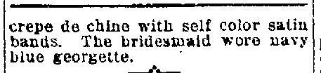 Halvangis-Chardoulis Wedding  Waterloo Evening Courier 2/24/1919