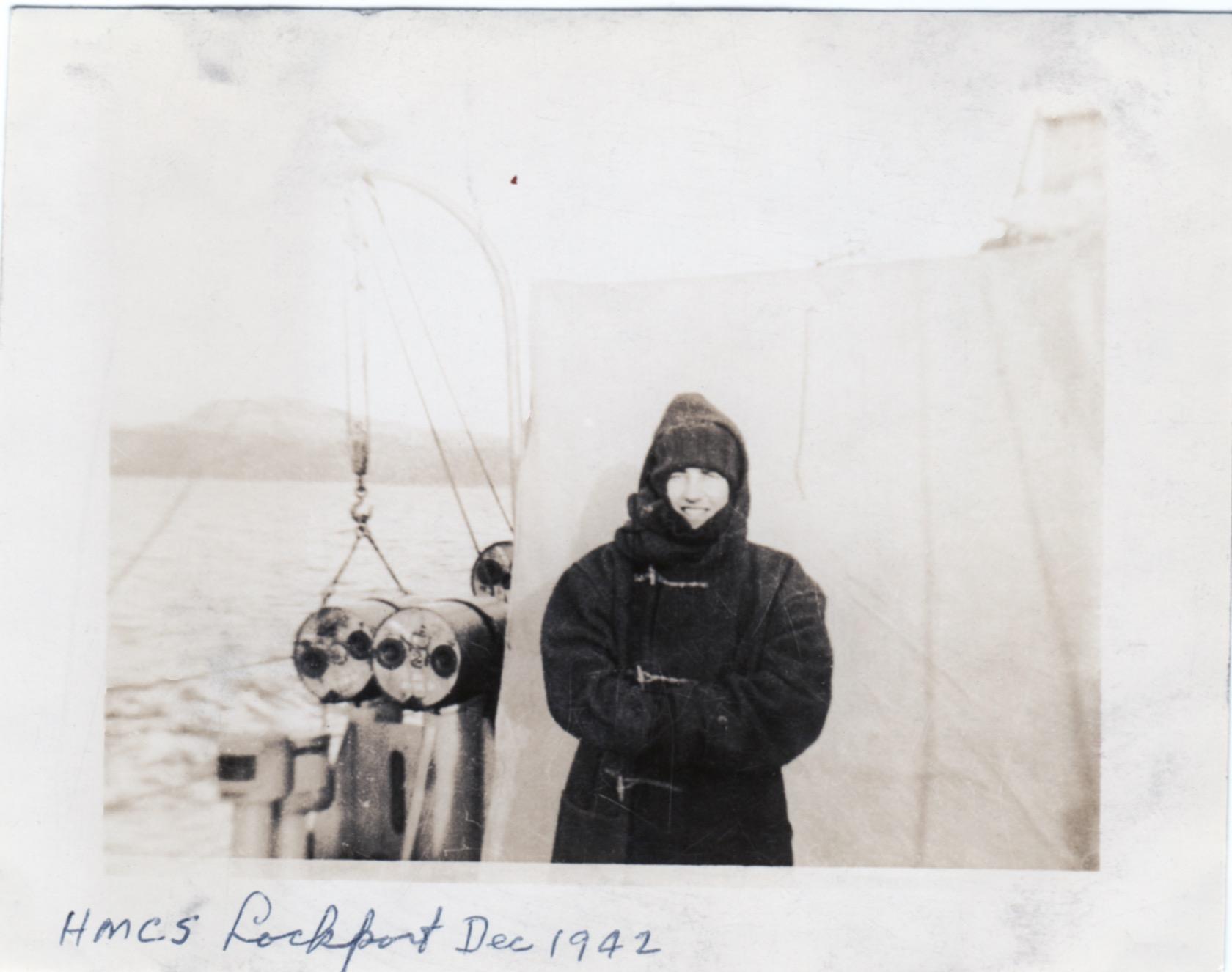 """HMCS Lockport Dec 1942"""