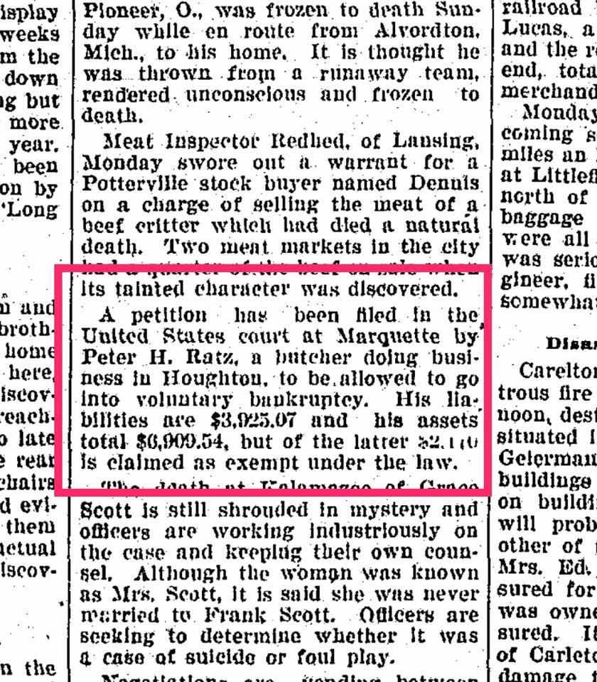 Alpena Evening News (Michigan) - February 7, 1900