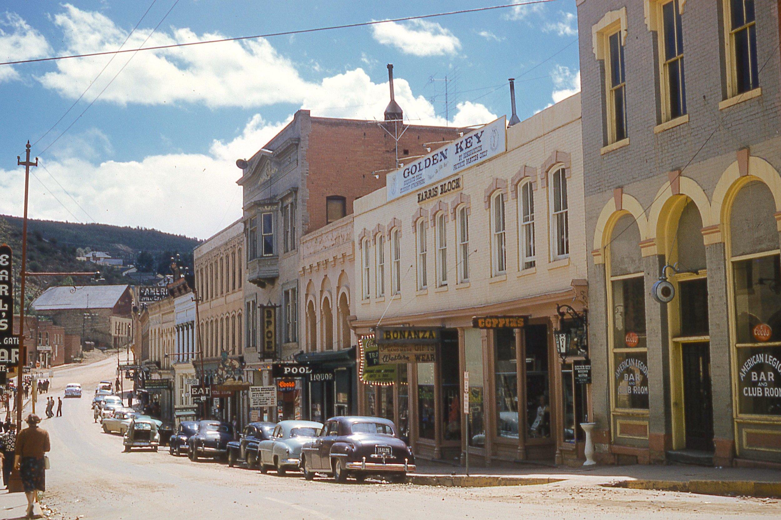 Colorado Street in 1956