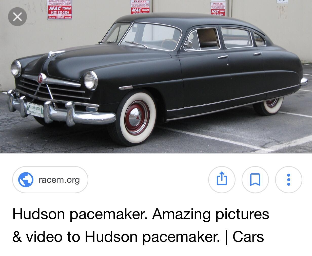 1951 Hudson Pacemaker