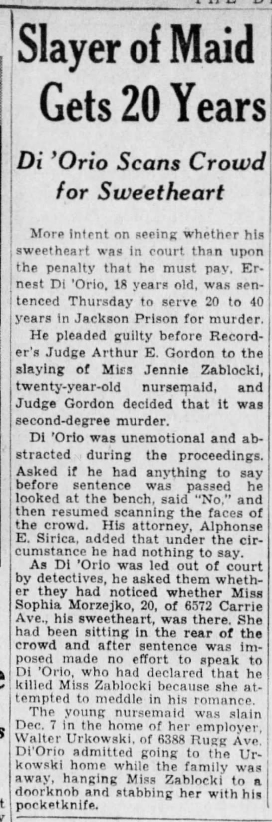 Detroit Free Press 1/12/1934