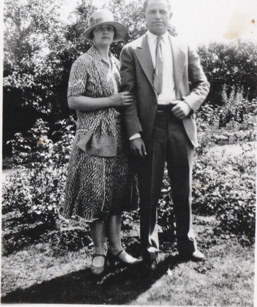 Arthur and Ida Sears mid 1930s