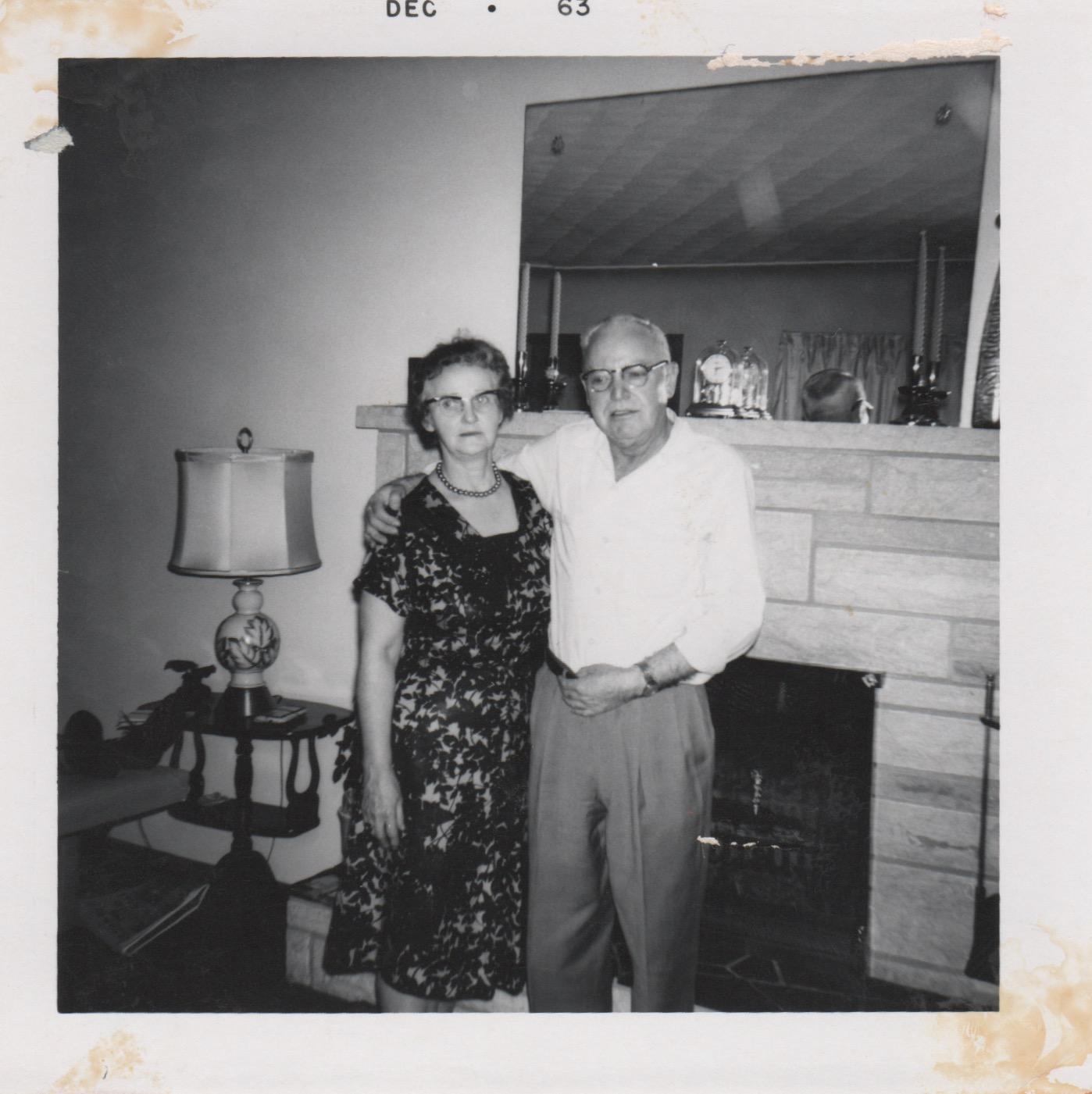 Arthur and Ida Sears 1963