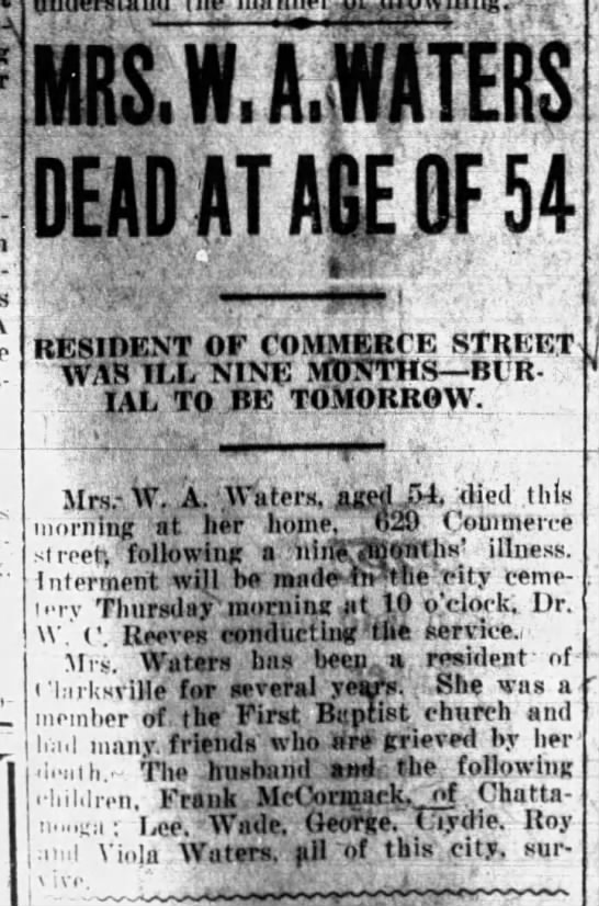 The Leaf-Chronical (Clarksville, TN) 11/18/1925