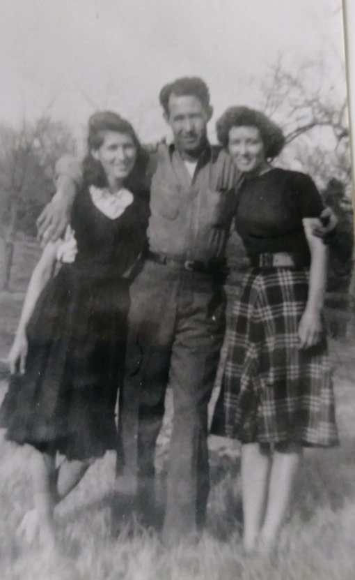 Viola, brother George, sister Clydia (left to right)