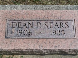 Porter Dean Sears (1906-1935)      Photo credit: eulaexpress