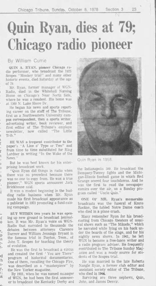Chicago Tribune 10/8/1978