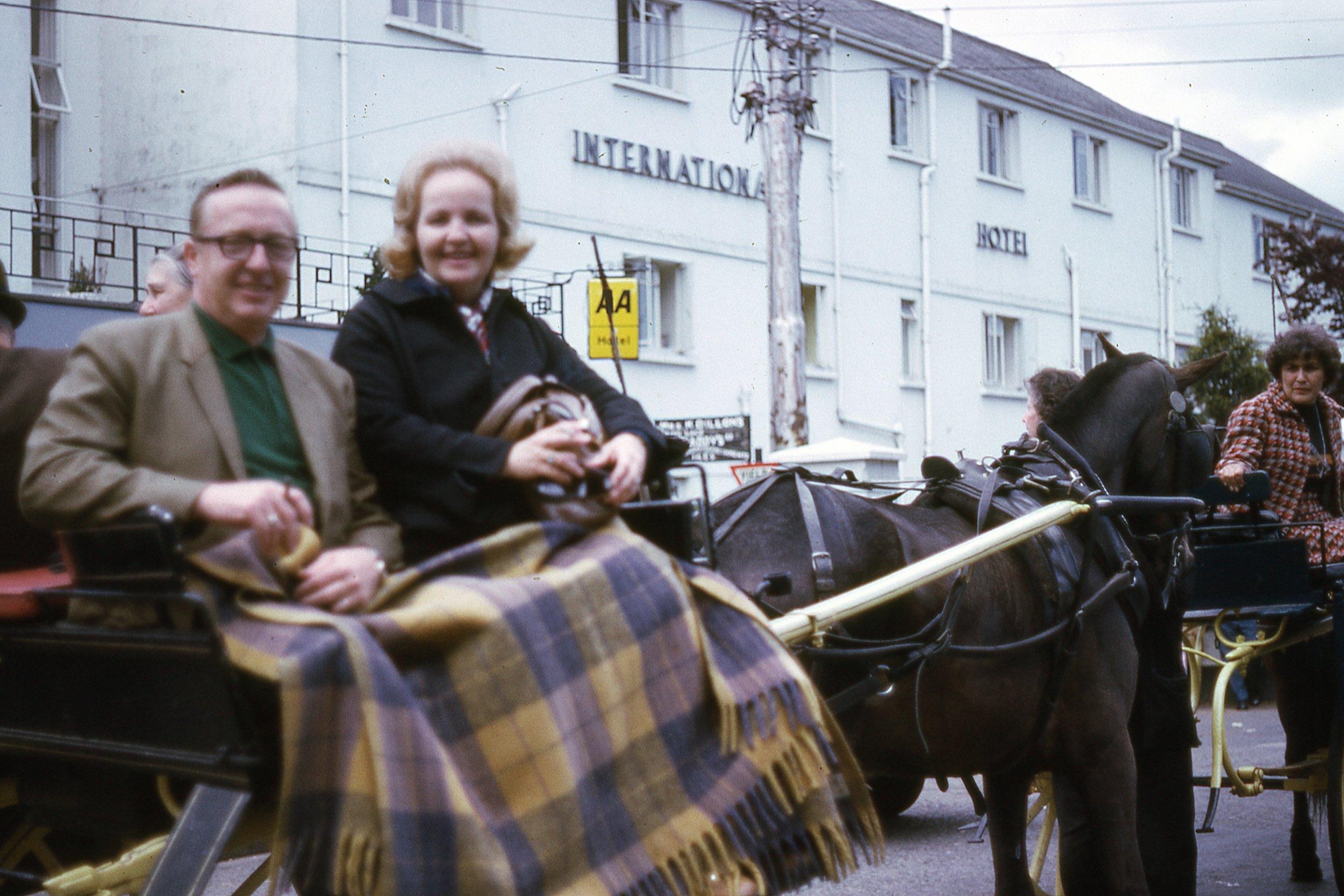 Michael and Betty Grace Hanley, 1971