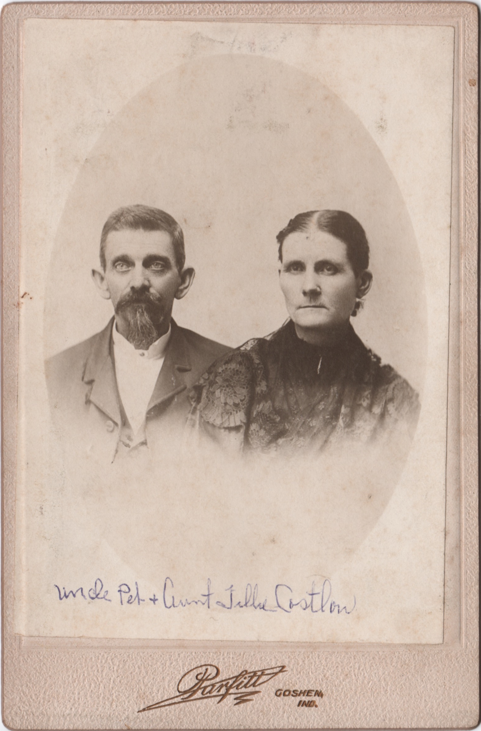 Peter Costlow (1846-1905) and Matilda Topper Costlow (1850-1935)
