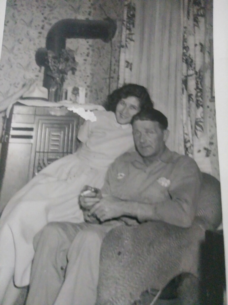 Viola and Lurton at their Gilman Ave. home