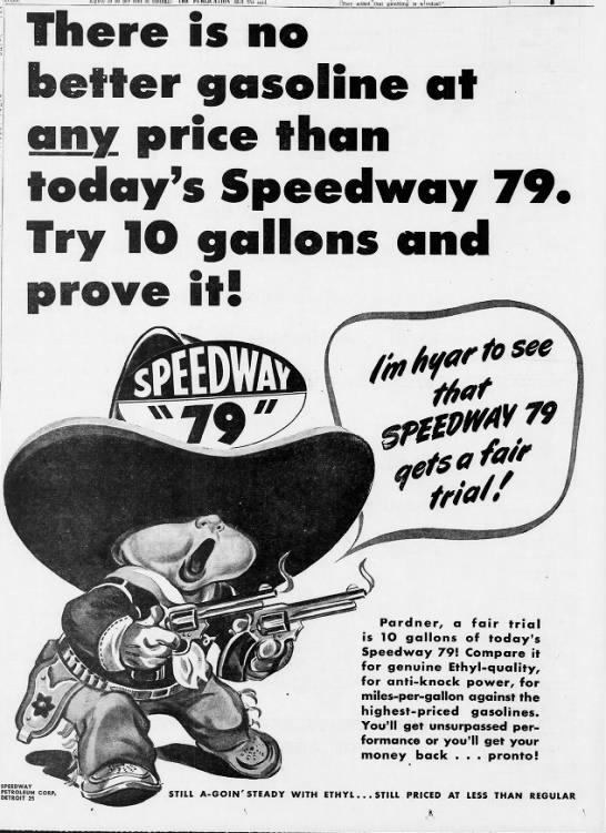 Detroit Free Press 15 May 1950