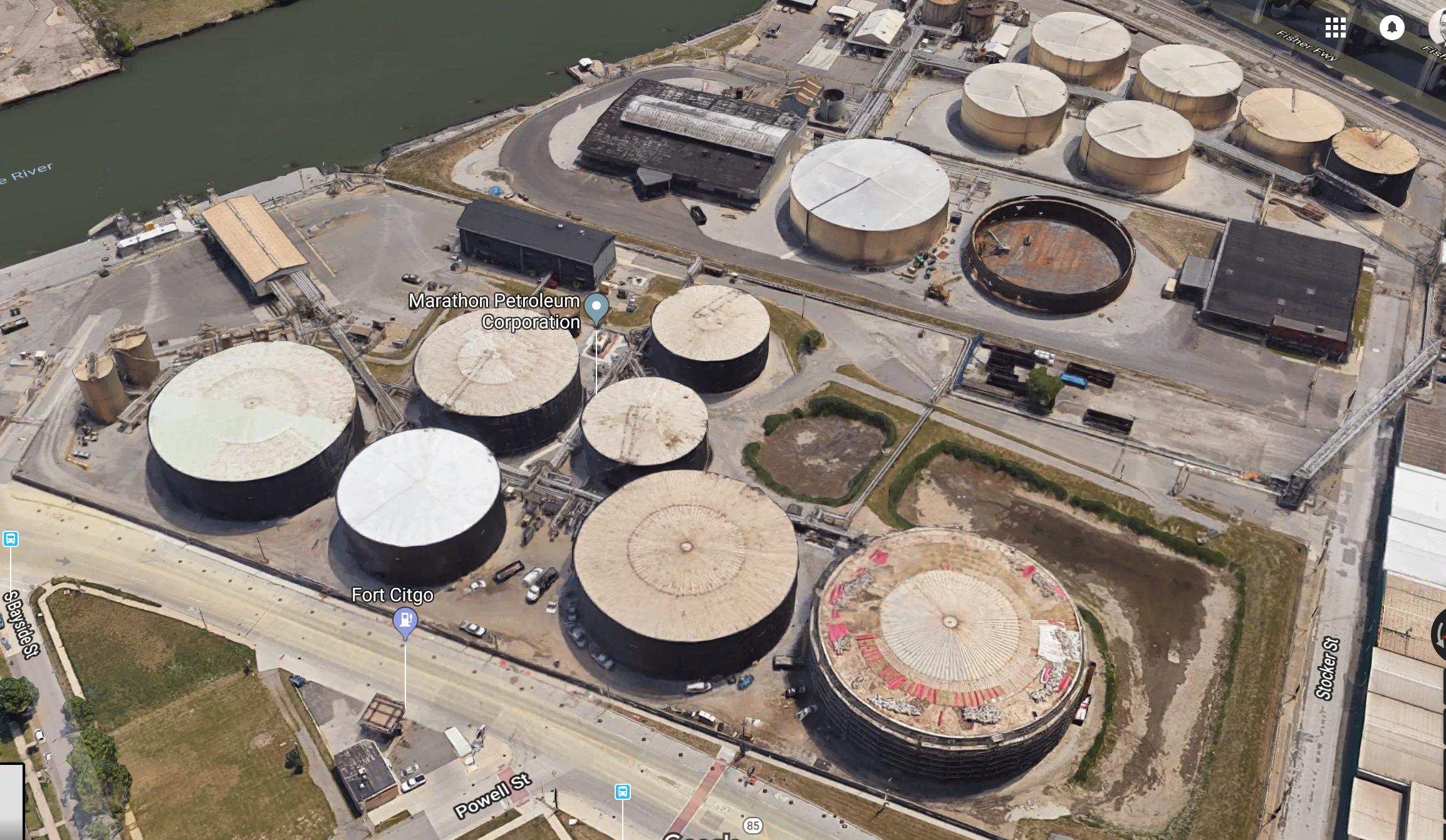Marathon Petroleum Corporation at 301 Fort St., Detroit, MI