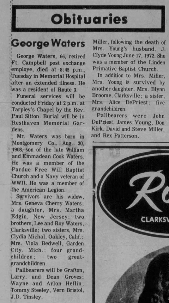 The Leaf-Chronicle (Clarksville, TN) 30 Oct 1974