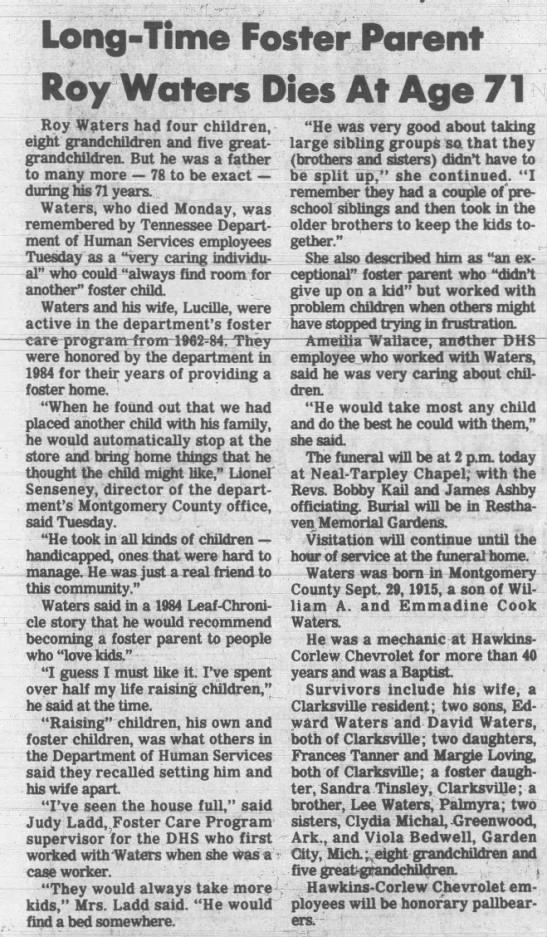 The Leaf Chronicle March 11, 1987