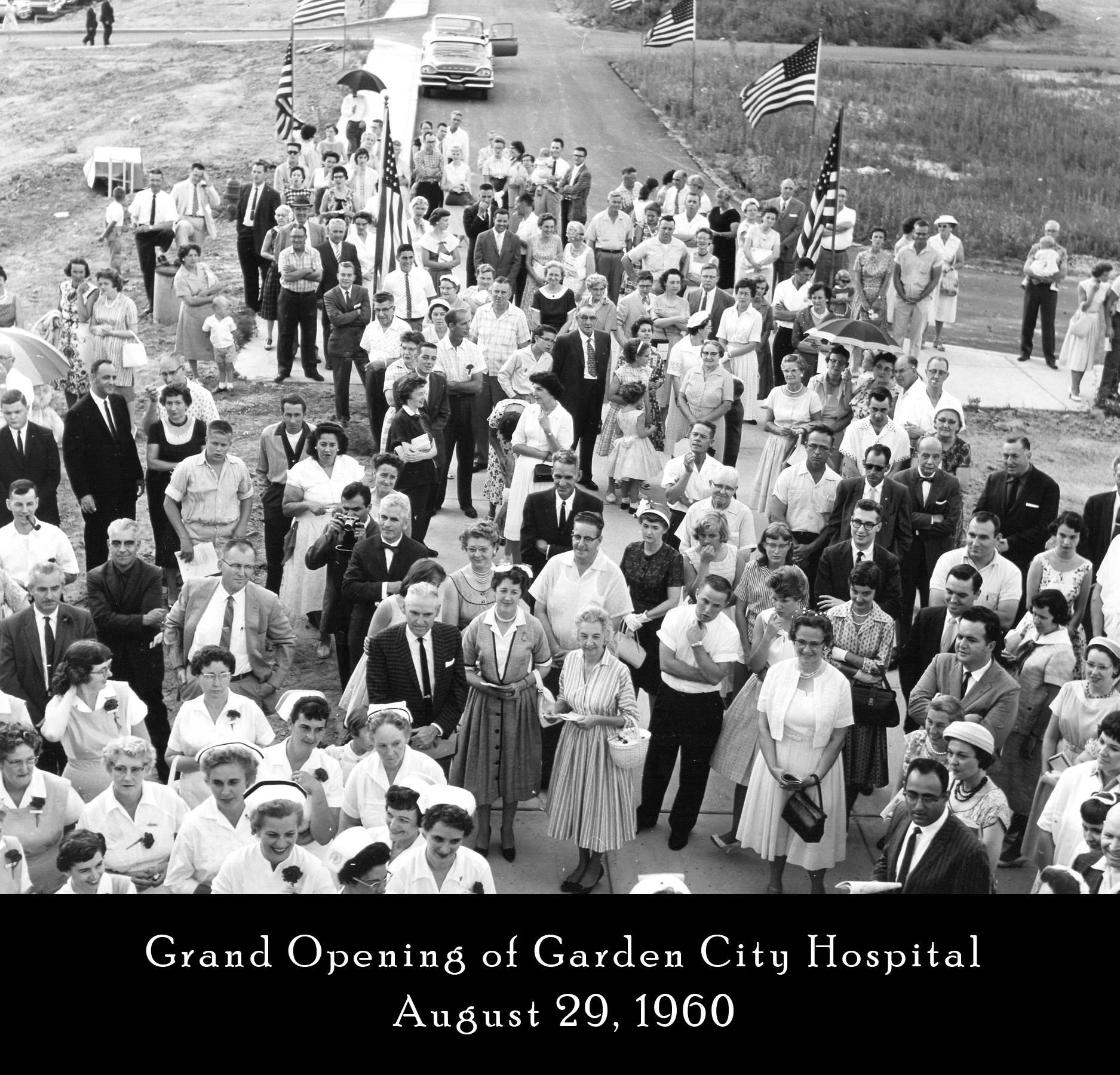 Photo Courtesy of the Garden City Hospital Facebook Page.