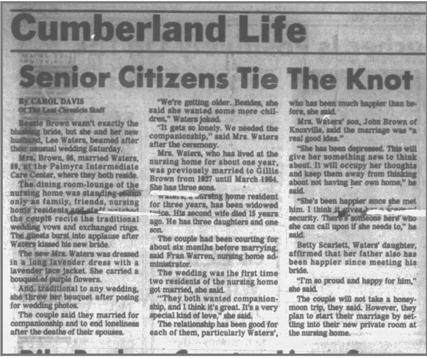 The Leaf-Chronicle April 29, 1985
