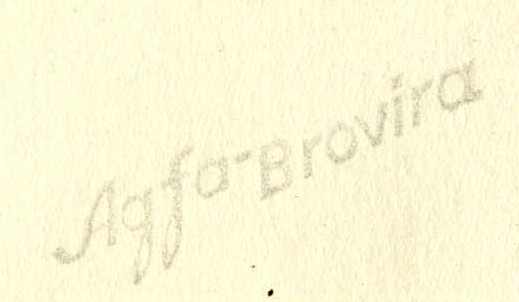 Agfa-Brovira Photograph Paper Stamp