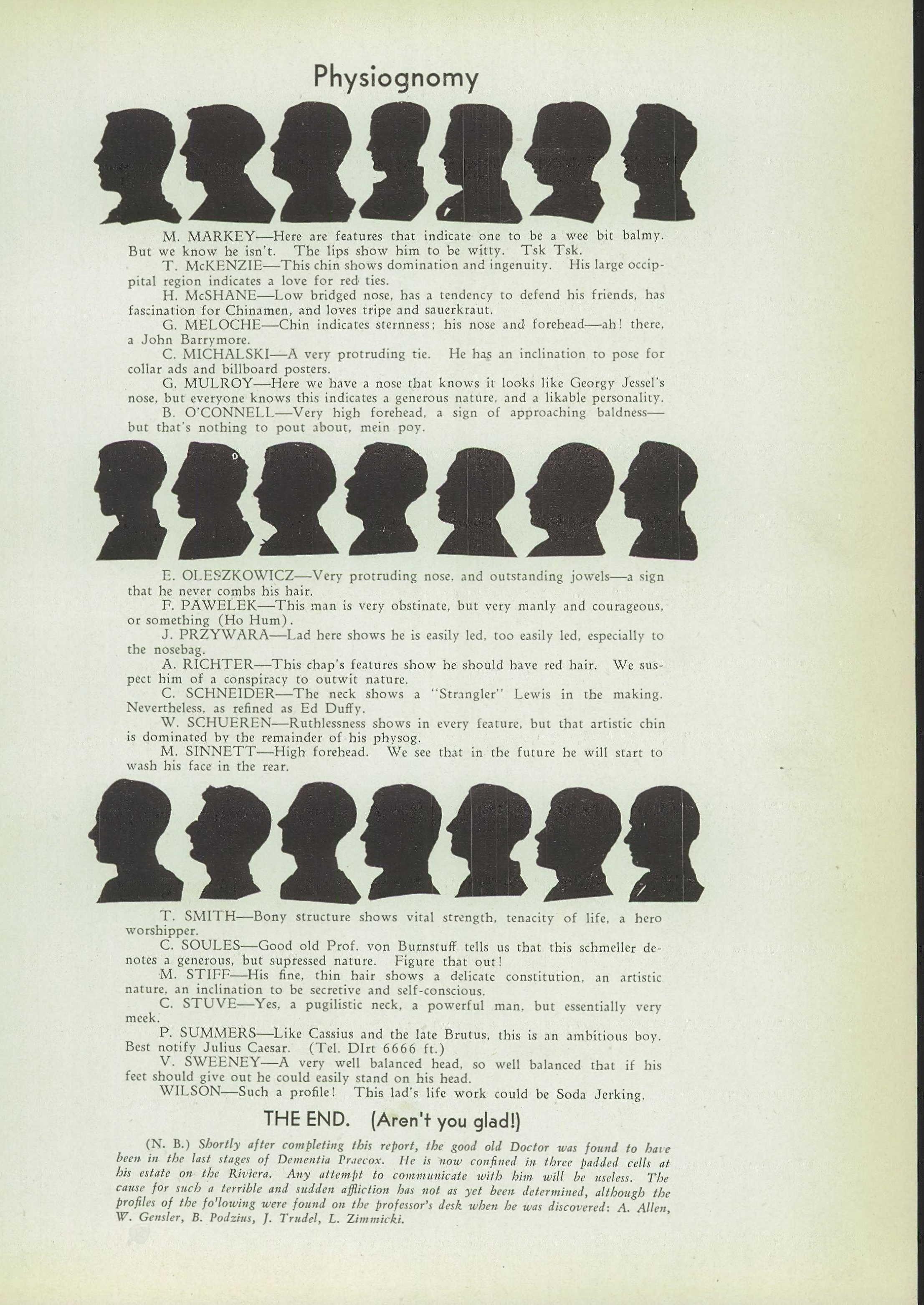 1932 Holy Redeemer High School Yearbook