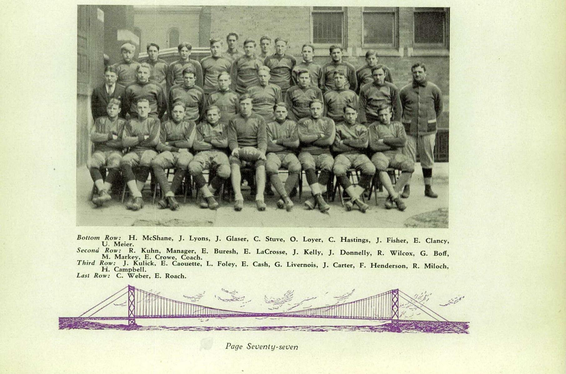 1930 Holy Redeemer High School Yearbook