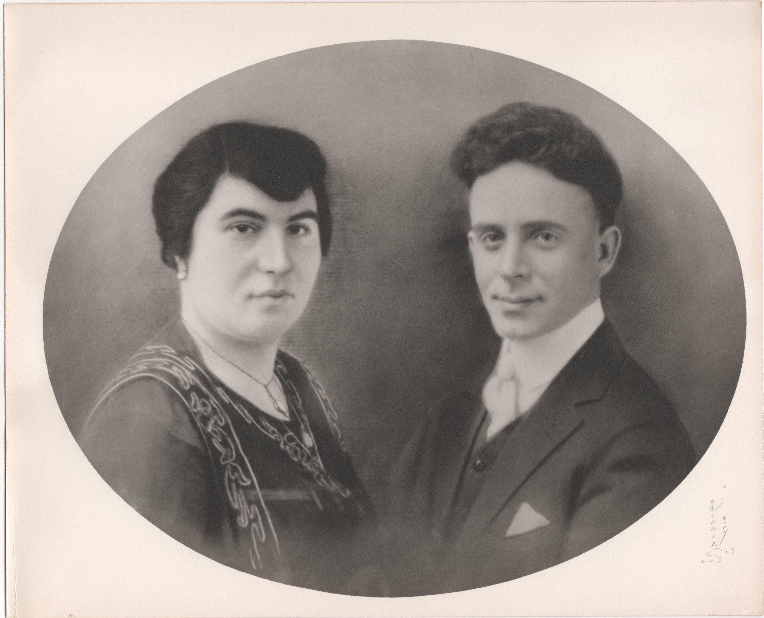 Maria Chardoulias and Vasilios Halvangis