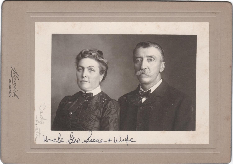 Rebecca (Rhoads) and George Seese
