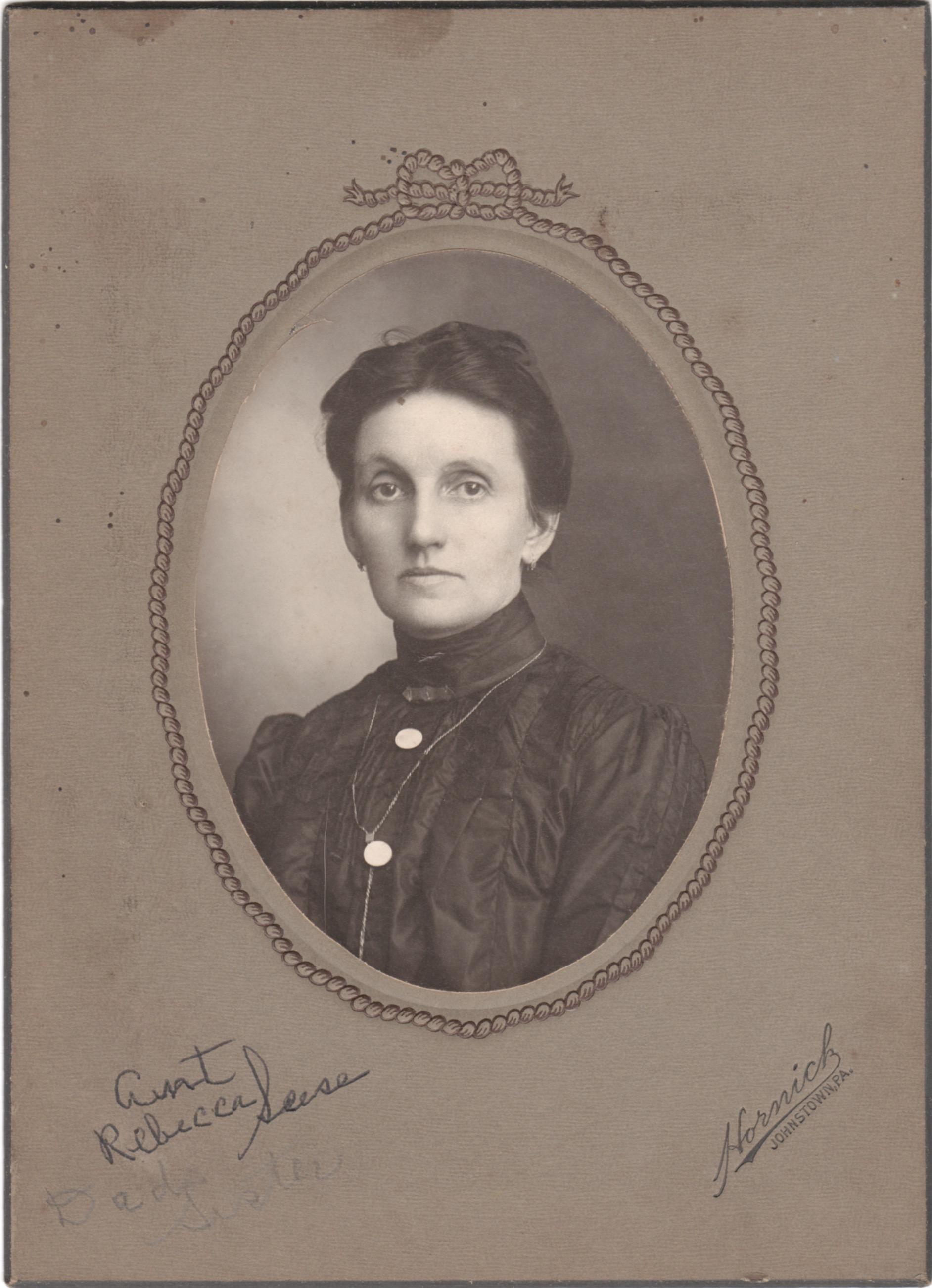 Rebecca Rhoads Seese (1859-1940)