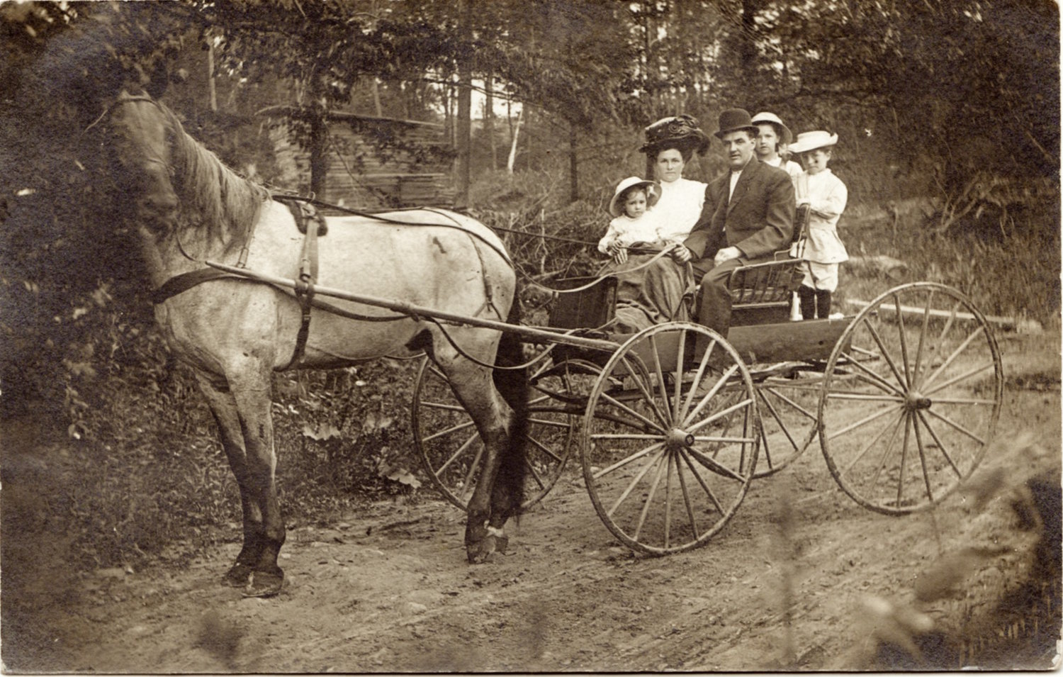 Edward Costlow (1876-1945) and Family