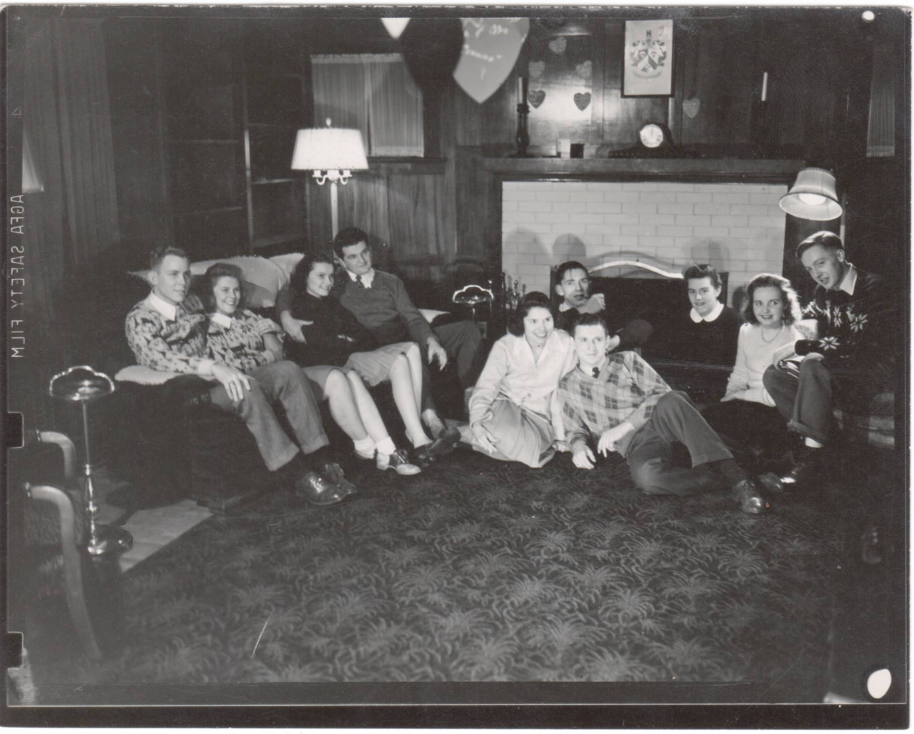 """""""Taken after skating party at fraternity house"""""""