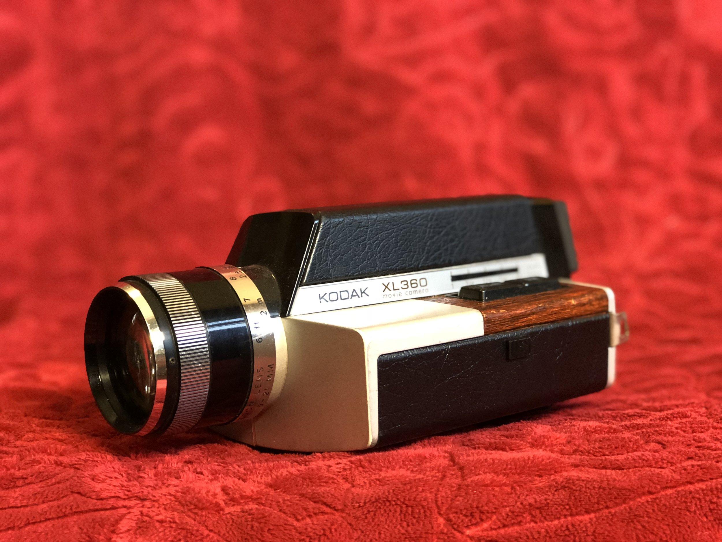 My parent's Kodak XL360 Movie Camera