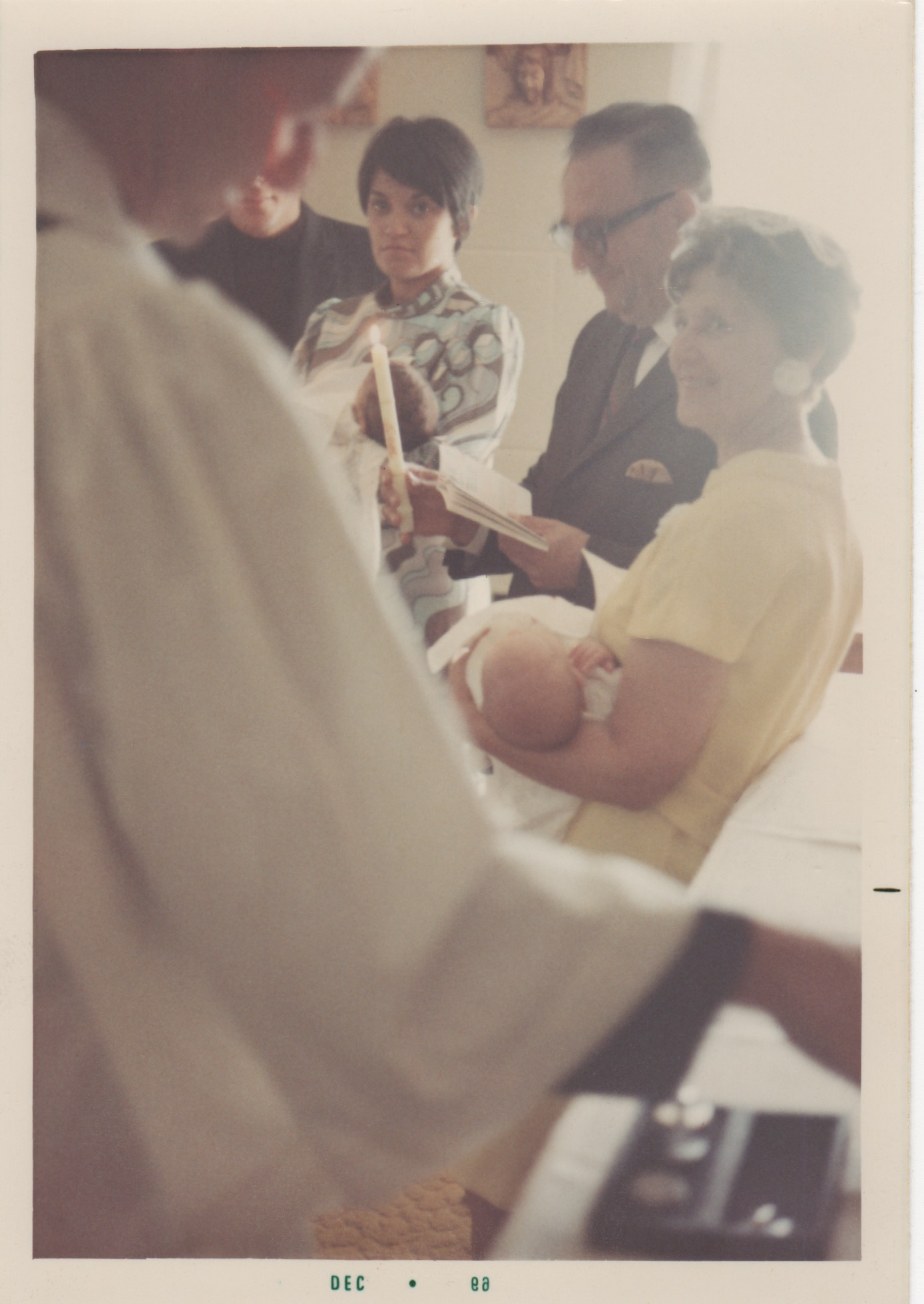 """July 20, 1969 - Christening Day"""